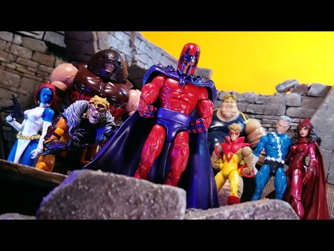 Marvel Legends Amazon Exclusive Magneto, Scarlet Witch & Quicksilver 3 Pack thumbnail