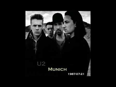 U2 - The Joshua Tree Tour - Munich (1987/07/21)