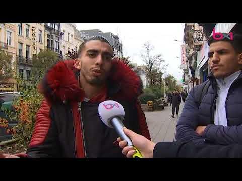 Housni a filmé au cœur des émeutes à Bruxelles