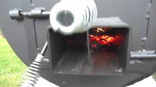 Fire Management of my Offset Smoker Pit for a Clean Burn and Maintaining Low Temps