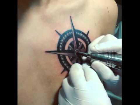 Rosa De Los Vientos Tattoo Youtube