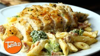 Looking for a creamy pasta dish tonight's dinner? well look no further than this delicious crispy chicken broccoli ranch pasta. enjoy! __________________...