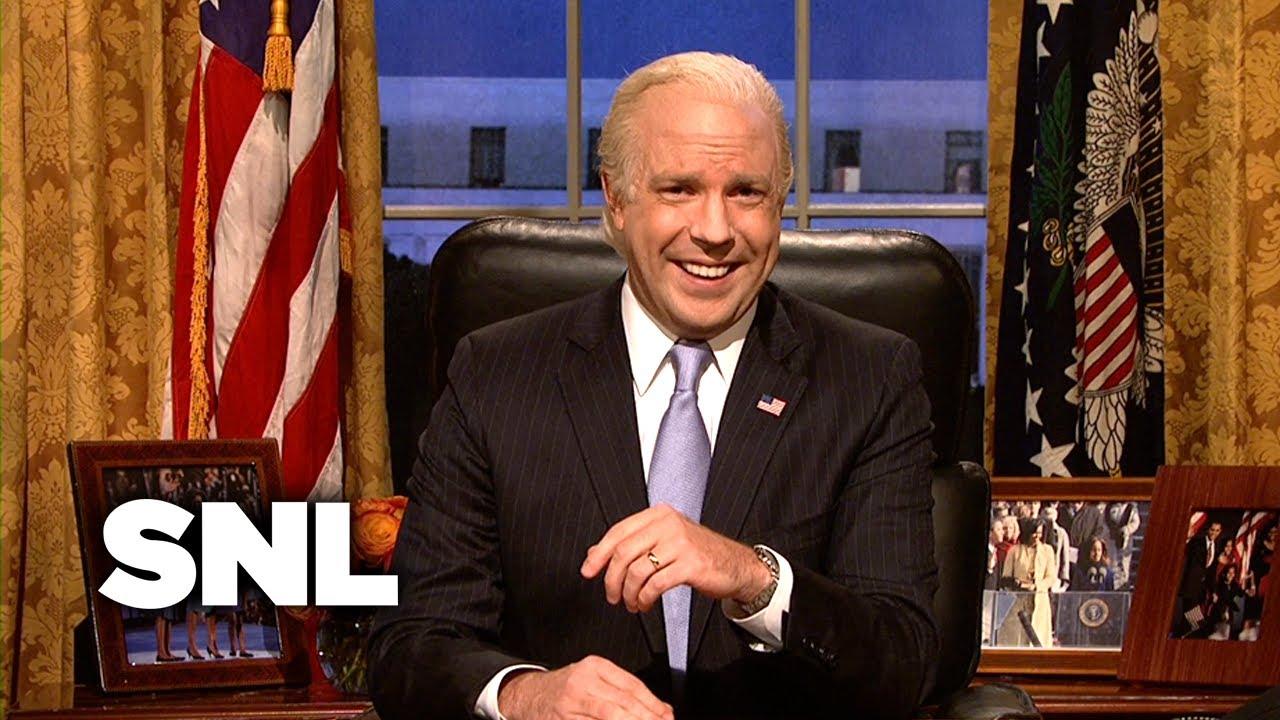 'SNL' brings back Jason Sudeikis' Joe Biden to help out the ...