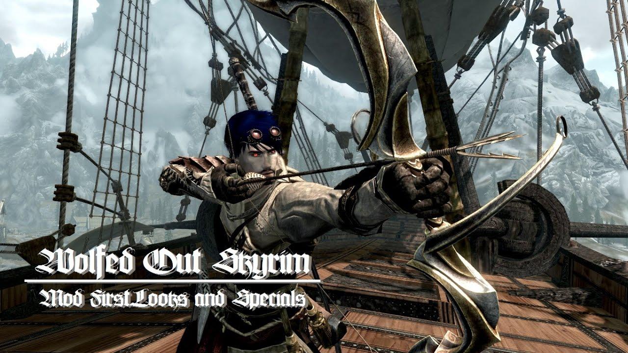 Skyrim Modded Bonus - Updated Immersive College of Winterhold mod