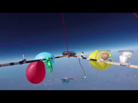 Buck Lake Weather Balloon Flight Video 2018