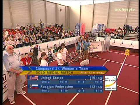 Indoor Archery World Championships 2007 - Izmir-Team match#6