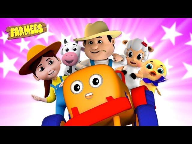 Popular Songs And Nursery Rhymes For Kids | Cartoon Videos - Farmees