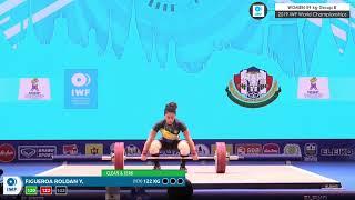 2019 IWF World Championships Day 4 WOMEN 59 kg Group B