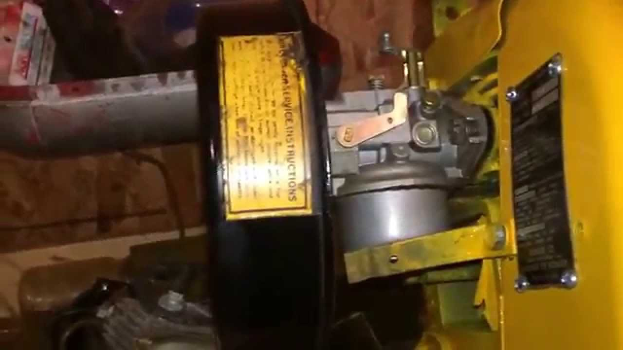 Quick cub cadet 123 update!!!! New new replacement engine