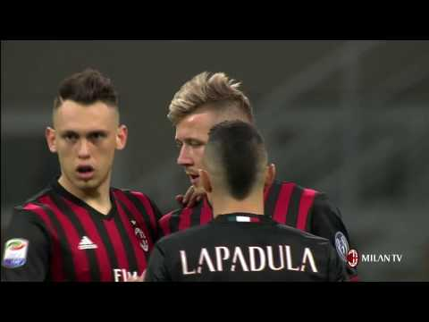 Highlights AC Milan-Genoa CFC 19th March 2017 Serie A