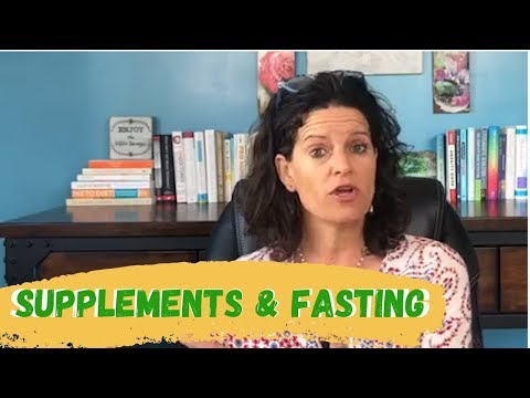 Should You Take Your Supplements While You're FASTING?