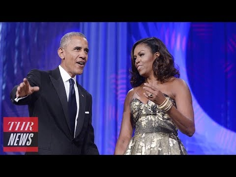 Obamas Ink Producing Deal With Netflix | THR News