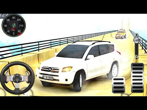 Car Ramp Racing Truck - Impossible Tracks 3D - Prado Impossible Stunts - Android Gameplay