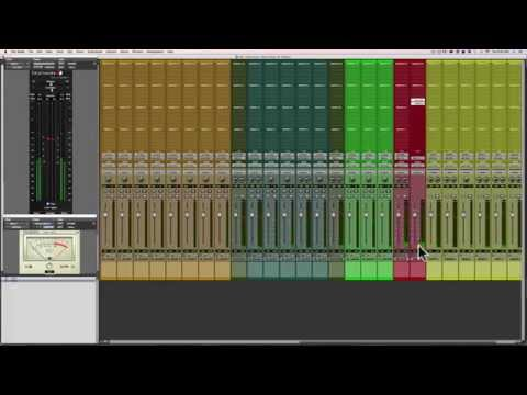 Mixing Alternative Rock in Pro Tools    Session Set up - 2/12