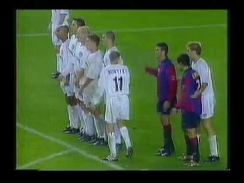 Leeds United 1 Barcelona 1 Champions League 24th Oct 2000 Part 1