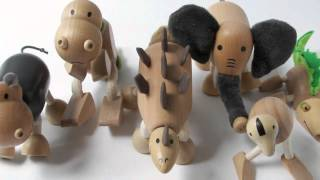 **anamalz Review - All You Need To Know Before Buying  Farm Zoo All Natural Anamalz Wooden Toys:))