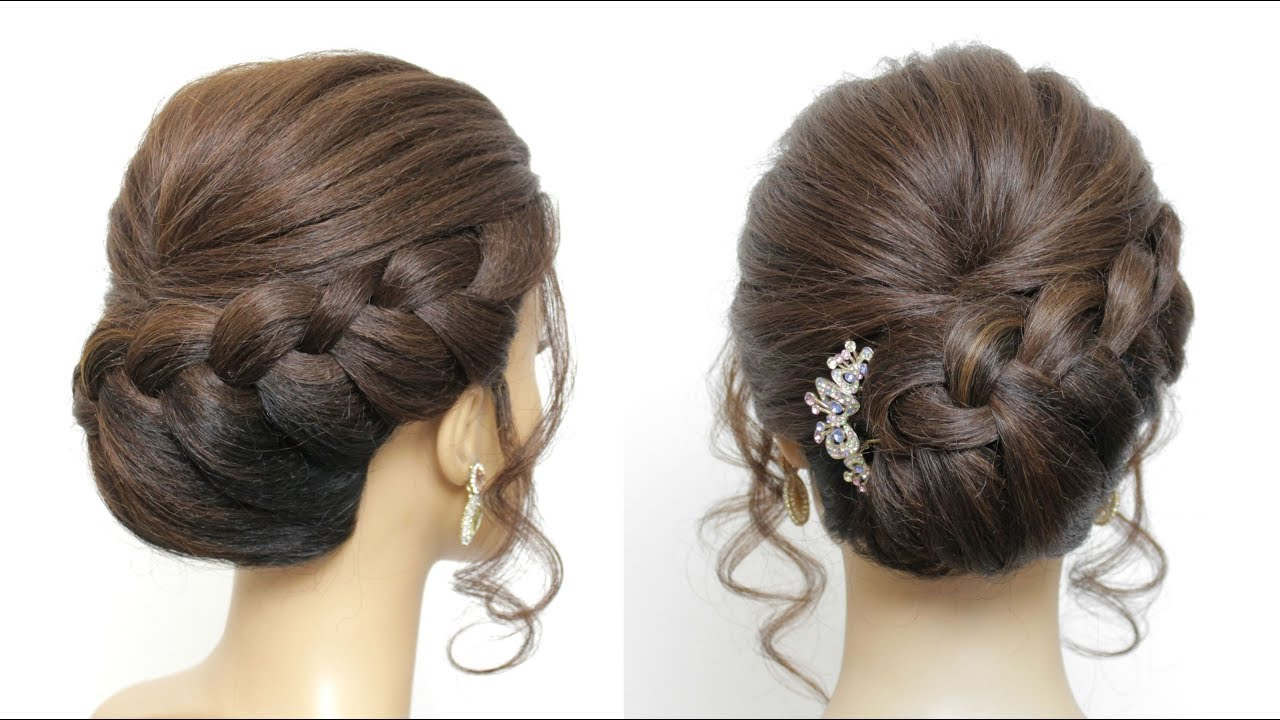 bridal updo tutorial. wedding hairstyles