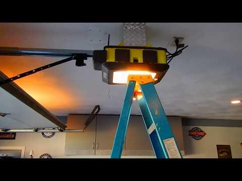 Ryobi Garage Door Review And Tips On Installing Youtube
