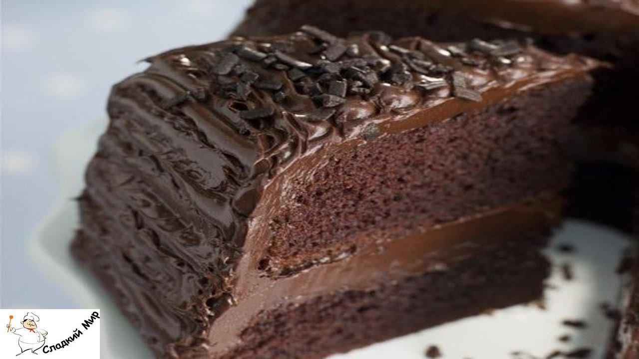 с с фото Торт брауни шоколадным кремом рецепт