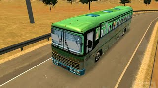 Hirkani Bus Driving | TATA Bus India | Indian bus in Heavy Bus Simulator | MSRTC bus in game
