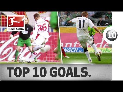 Top 10 Goals Köln vs. Gladbach - Reus, Podolski & Co. with Legendary Derby Strikes