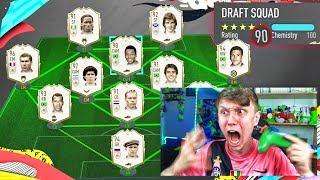 PELE IN THE RAREST FULL ICON FUT DRAFT!! (FIFA 20)