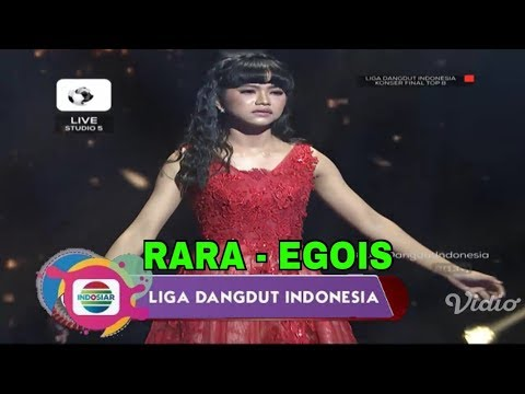 Rara (Sumatera Selatan) - Egois | Top 8 Group 1 Show LIDA Liga Dangdut Indonesia INDOSIAR