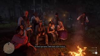 Red Dead Redemption 2 Cielito Lindo Camp Fire Song by Javier Escuella (Easter Egg)