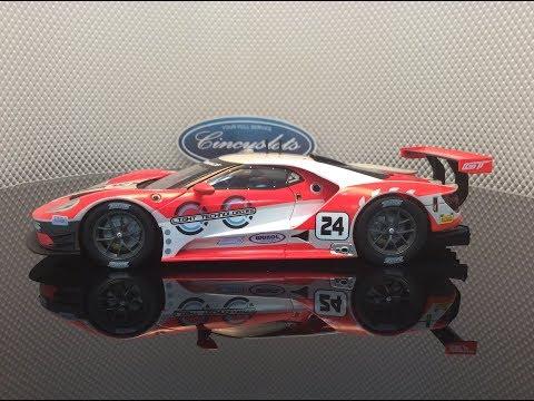 Carrera D124 Ford GT #24 23841 Slot Car CINCYSLOTS