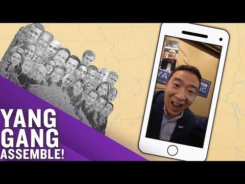 The #YangGang rang and we answered. | Full Frontal on TBS