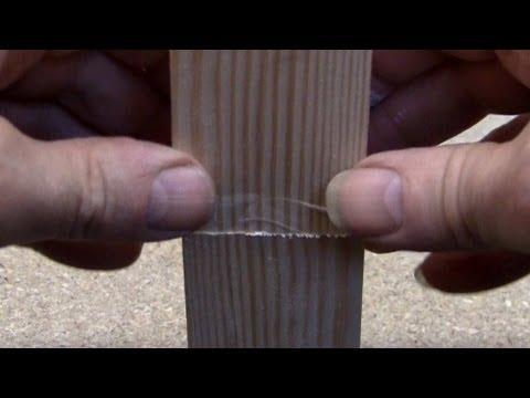 Gluing end grain wood - Titebond