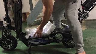 UberScoot 1600w 48v Electric Scooter Lithium Upgrade 48v 25Ah