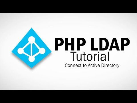 PHP LDAP Tutorial Part 1 - Connect to LDAP Server