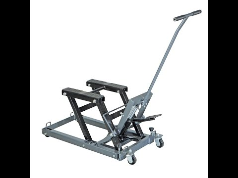 1500 lb. Capacity ATV/Motorcycle Lift by Pittsburgh Automotive Assembly !