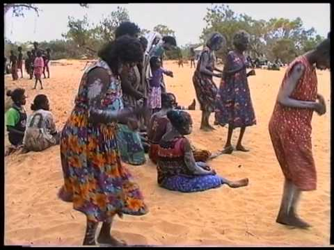 Dance during Aboriginal Initiation Ceremony, northern Australia 1