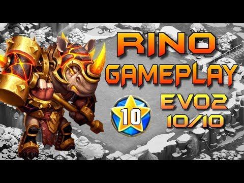Rino Test Evo2 10/10 Gameplay | Castillo Furioso