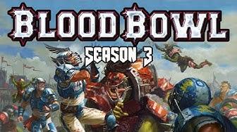 Lizardmen vs Amazons Blood Bowl League Season 3 Game 1