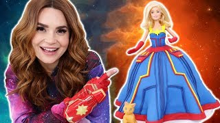 Download CAPTAIN MARVEL PRINCESS CAKE - NERDY NUMMIES Mp3 and Videos