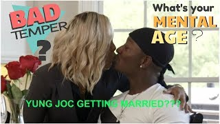 YUNG JOC Proposes to His Girlfriend: Is she dating down?
