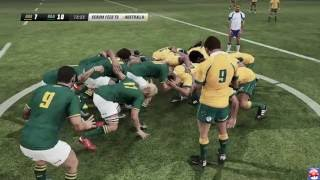 Rugby Challenge 3 - Australia vs South Africa - PC Gameplay