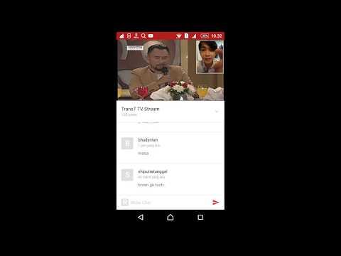 Cara Nonton Tv live indonesia Lewat HP android dengan Mudah