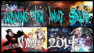 Upcoming Fall 2014 Anime Line-Up [Most Anticipated New Anime Series I Want To See]