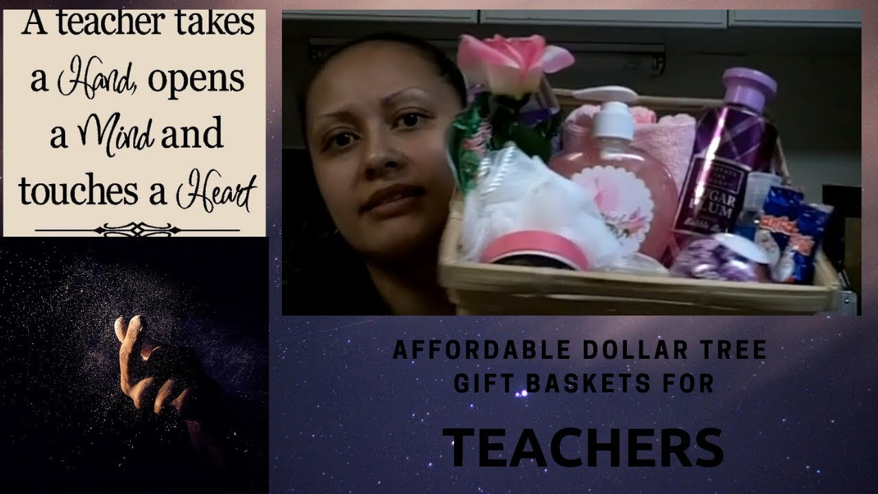 Another gift basket idea for teacher all dollar tree products another gift basket idea for teacher all dollar tree products youtube negle Image collections