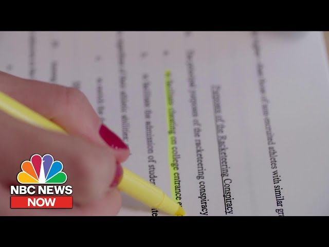 The Weirdest Details You Might Have Missed From The College Scandal | NBC News NOW