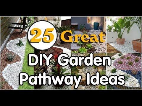 25 great diy garden pathway ideas - Diy Garden Path Ideas