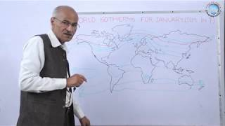 TEMPERATURE ( WORLD ISOTHERMS ) // PART- 3 //  HINDI // By Prof. SS OJHA