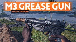 New M3 Grease Gun Has A SECRET FEATURE! - Battlefield 5 Pacific