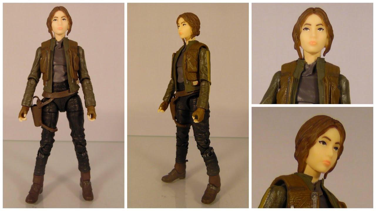 "Jedha Figure Star Wars Rogue One 5.5/"" Black Series Sergeant Jyn Erso"