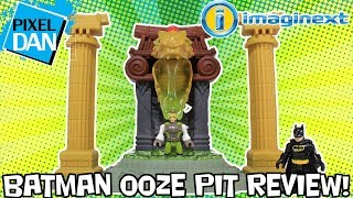 Imaginext Batman Ooze Pit DC Super Friends Playset Video Review - The Slime Pit Returns!