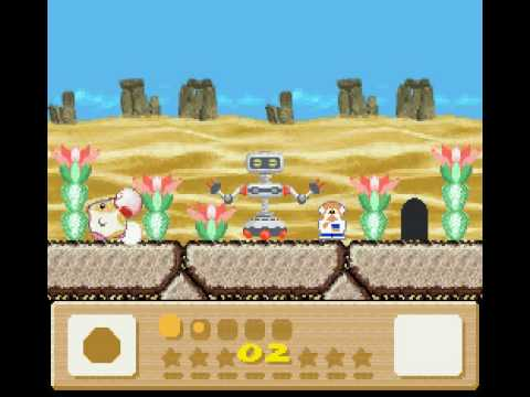 R.O.B. cameo in Kirby's Dreamland 3
